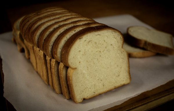 Franklin White Sandwich Bread, 1/2″ Sliced